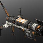 The Foundry Contest Spaceship Still Render