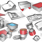 Sterno Camping Stove Industrial Design Sketches