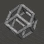 dodecahedron lattice element